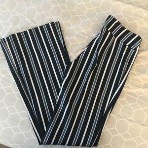 NWOT striped pants